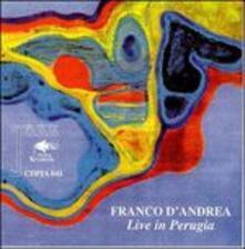 Live in Perugia - CD Audio di Franco D'Andrea