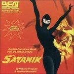 Cover CD Colonna sonora Satanik