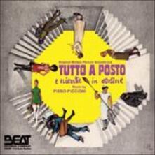 Tutto a Posto e Niente in Ordine (Colonna sonora) - CD Audio di Piero Piccioni