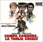 Cover CD Colonna sonora Campa carogna... la taglia cresce