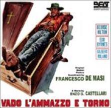 Vado L'ammazzo e Torno (Colonna Sonora) - CD Audio