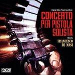Cover CD Colonna sonora Concerto per pistola solista