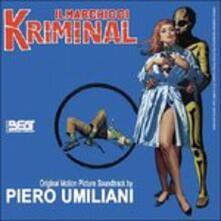 Il Marchio di Kriminal (Colonna sonora) - CD Audio di Piero Umiliani