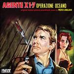 Cover CD Colonna sonora Agente X 1 - 7 operazione Oceano