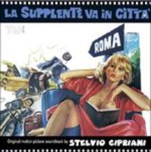 La Supplente Va in Città (Colonna Sonora) - CD Audio di Stelvio Cipriani