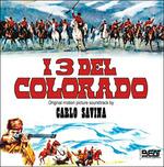 Cover CD Colonna sonora I tre del Colorado