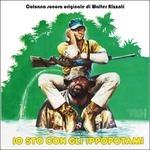 Cover CD Colonna sonora Io sto con gli ippopotami