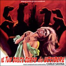 Il tuo dolce corpo (Colonna sonora) - CD Audio di Carlo Savina