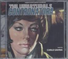 Contranatura (Colonna Sonora) - CD Audio di Carlo Savina