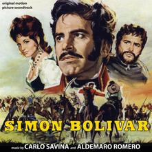 Simon Bolivar (Colonna sonora) - CD Audio di Carlo Savina,Aldemaro Romero