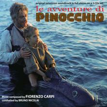 Le avventure di Pinocchio (Colonna sonora) - CD Audio di Fiorenzo Carpi