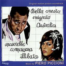 Bello Onesto Emigrato Australia Cerca Compaesana Illibata - CD Audio di Piero Piccioni
