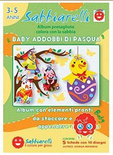 Sabbiarelli Album Baby Addobbi di Pasqua