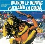 Cover CD Colonna sonora Quando le donne avevano la coda