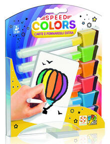 Speed Colors. Carte e Pennarelli Extra
