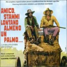 Amico, Stammi Lontano Alm (Colonna Sonora) - CD Audio di Gianni Ferrio