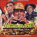 Cover della colonna sonora del film La battaglia del desertov