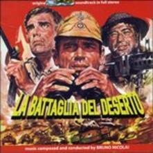 La battaglia del deserto (Colonna Sonora) - CD Audio di Bruno Nicolai