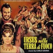 Ursus Nella Terra di (Colonna sonora) - CD Audio di Carlo Savina