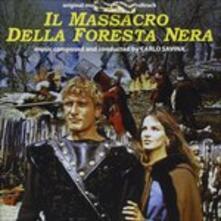 Il massacro della foresta (Colonna Sonora) - CD Audio di Carlo Savina