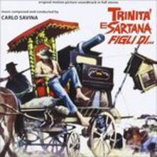 Trinità e Sartana (Colonna sonora) - CD Audio di Carlo Savina