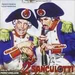 Cover della colonna sonora del film I due sanculottiv