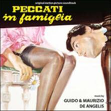 Peccati in famiglia (Colonna Sonora) - CD Audio di Guido De Angelis,Maurizio De Angelis