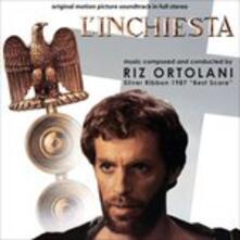 L'inchiesta (Colonna Sonora) - CD Audio di Riz Ortolani