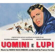 Uomini e lupi (Colonna sonora) - CD Audio di Mario Nascimbene