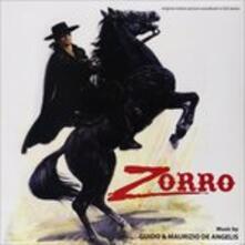 Zorro (Colonna sonora) (Limited Edition) - Vinile LP di Guido De Angelis,Maurizio De Angelis