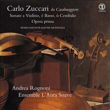 Sonate a violino e basso o cembalo - CD Audio di Carlo Zuccari