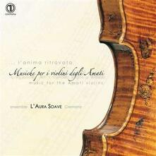 Musica per i violini degli Amati - CD Audio di Marc'Antonio Ingegneri