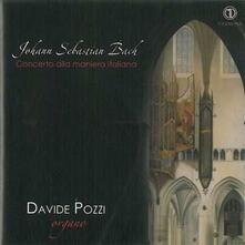 Concerto alla maniera italiana - CD Audio di Girolamo Frescobaldi,Bernardo Pasquini,Davide Pozzi