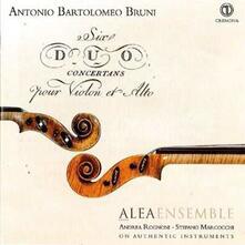Sei duetti concertanti per viola e violino - CD Audio di Antonio Bruni