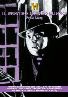 Il mostro di Dusseldorf (DVD) di Fritz Lang - DVD