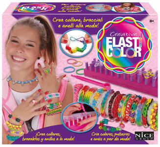 Elasticolor. Telaio crea braccialetti