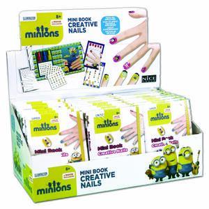 Minion Mini Book. Nails - 2