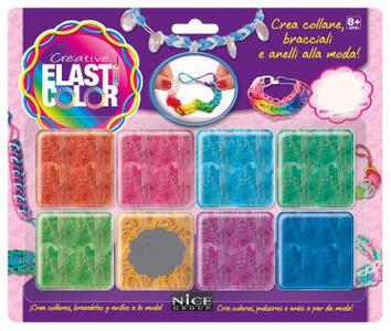 Elasticolor. Blister 8 colori