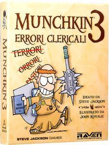 Espansione per Munchkin 3. Errori clericali - 2