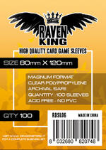 RAVEN KING Bustine Protettive 80x120mm