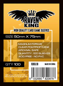 Raven King Bustine Protettive 50x75mm