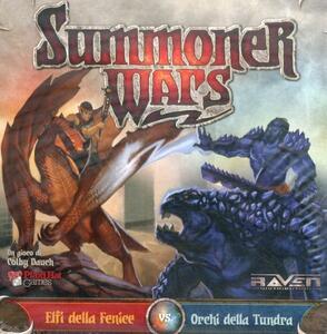 Espansione per Summoner Wars. Elfi della Fenice vs. Orchi della Tundra