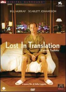 Lost In Translation. L'amore tradotto<span>.</span> Grandi Film di Sofia Coppola - DVD