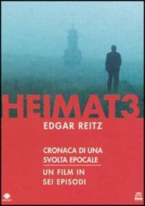 Heimat 3. Cronaca di una svolta epocale (6 DVD) di Edgar Reitz - DVD
