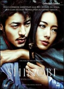 Shinobi (2 DVD)<span>.</span> Collector's Edition di Ten Shimoyama - DVD