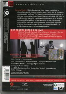 Agente Lemmy Caution, missione Alphaville di Jean-Luc Godard - DVD - 2