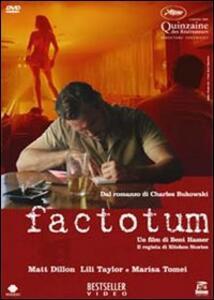 Factotum di Bent Hamer - DVD