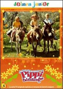 Pippi Calzelunghe. Vol. 06 di Olle Hellbom - DVD