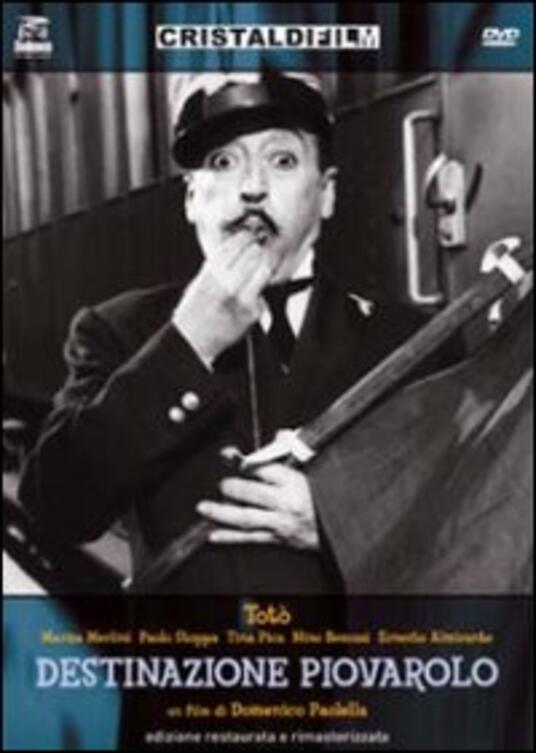 Destinazione Piovarolo di Domenico Paolella - DVD