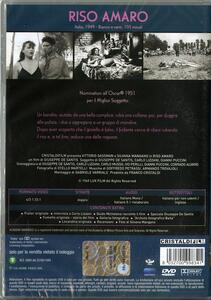 Riso amaro di Giuseppe De Santis - DVD - 2